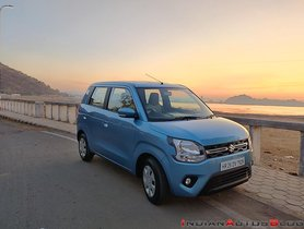 BS6 Maruti WagonR CNG Launched, Priced At Rs. 5.25 Lakh