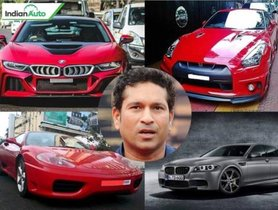 Sachin Tendulkar Cars Collection: Jaw-Dropping Supercars Of The Cricketing Legend