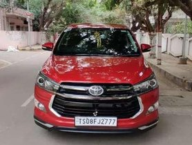 Used 2017 Toyota Innova Crysta Touring Sport MT for sale in Hyderabad