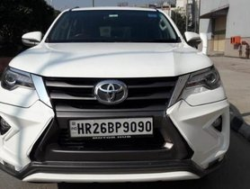 Used 2017 Toyota Fortuner 2.8 4WD AT for sale in New Delhi