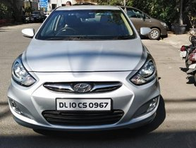 Used 2013 Hyundai Verna 1.6 SX MT car at low price in New Delhi