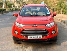 Used 2013 Ford EcoSport AT car at low price in Mumbai