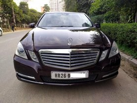 2011 Mercedes Benz E Class AT for sale at low price in Gurgaon