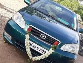 Used 2003 Toyota Corolla MT car at low price in Gobichettipalayam