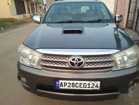 2010 Toyota Fortuner MT for sale at low price in Hyderabad