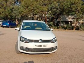 Used Volkswagen Polo 2015 MT for sale in Hyderabad
