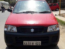 2005 Maruti Suzuki Alto MT for sale at low price in Bangalore