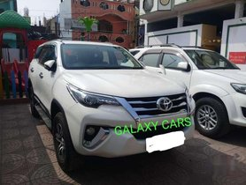 Used Toyota Fortuner 4x2 Manual 2017 MT for sale in Hyderabad