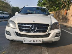 2011 Mercedes Benz M Class ML 350 CDI AT for sale at low price in Mumbai