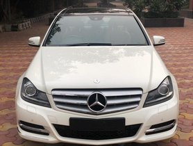 Used 2013 Mercedes Benz C-Class C 200 CGI Avantgarde AT car at low price in New Delhi