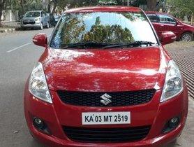 2013 Maruti Suzuki Swift ZXI MT for sale at low price in Bangalore