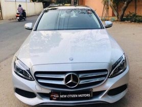 2015 Mercedes Benz C-Class C 220 CDI Elegance AT for sale at low price in Bangalore