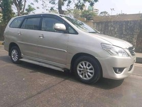 Used 2013 Toyota Innova 2.5 VX 7 STR MT for sale in Mumbai