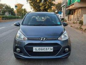 Used 2015 Hyundai i10 Sportz MT car at low price in Ahmedabad