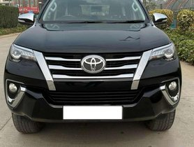 Used Toyota Fortuner 2017 AT for sale in Ernakulam