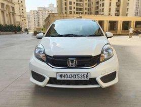 Used 2016 Honda Brio MT car at low price in Mumbai
