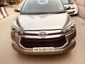Used 2017 Toyota Innova Crysta 2.8 ZX AT for sale in New Delhi