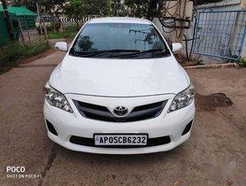 Used 2012 Toyota Corolla Altis G MT for sale in Vijayawada
