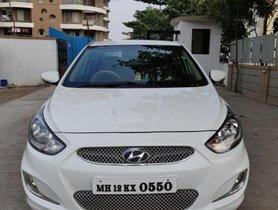 Used 2014Hyundai Verna 1.6 SX MT car at low price in Pune
