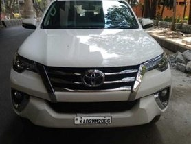 Used 2017 Toyota Fortuner 2.8 2WD MT car at low price in Bangalore