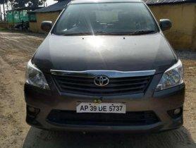 Used Toyota Innova 2.5 GX 7 STR BS-IV LTD, 2012 MT for sale in Guntur