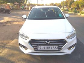 Used Hyundai Verna 2018 MT for sale in Ahmedabad