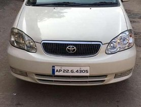 Used Toyota Corolla H5 1.8E, 2004, Petrol MT for sale in Hyderabad