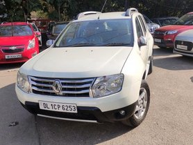 2013 Renault Duster 110PS Diesel RXZ Optional with Nav MT for sale at low price in New Delhi