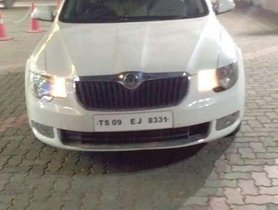 Used 2012 Skoda Superb 1.8 TSI AT for sale in Hyderabad