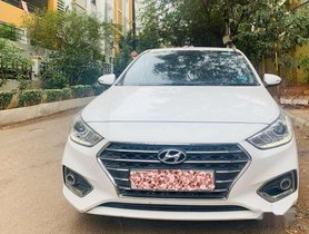 Used 2018 Hyundai Verna 1.6 SX AT for sale in Hyderabad