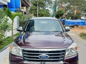 Used Ford Endeavour 2010 2.5L 4x2 AT for sale in Hyderabad