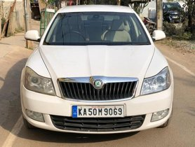 Skoda Laura Elegance 2.0 TDI CR AT 2010 in Bangalore