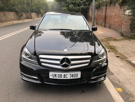 Used 2013 Mercedes Benz C-Class C 220 CDI BE Avantgare AT for sale in New Delhi