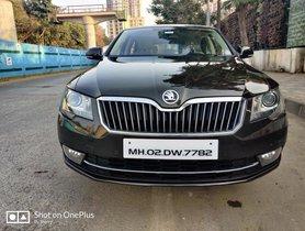 Used Skoda Superb Elegance 2.0 TDI CR AT 2015 in Mumbai