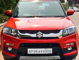 Used Maruti Suzuki Vitara Brezza ZDi - Diesel, 2016 MT for sale in Vijayawada
