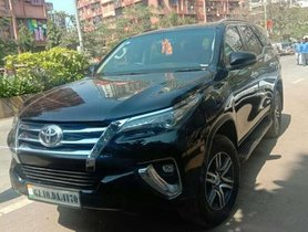 Used 2019 Toyota Fortuner AT for sale in Mumbai