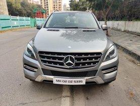 Used Mercedes Benz M Class ML 250 CDI AT 2015 in Mumbai