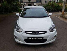 Used 2012 Hyundai Verna 1.6 SX MT car at low price in Bangalore