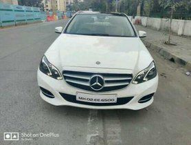 Mercedes Benz E Class AT 2016 for sale in Mumbai