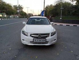 2009 Honda Accord 2.4 Elegance M/T for sale at low price in New Delhi
