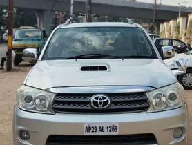 Used 2009 Toyota Fortuner AT for sale in Hyderabad