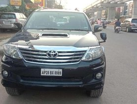 Used Toyota Fortuner 2013 AT for sale in Hyderabad