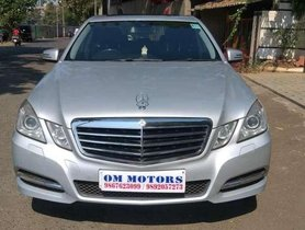 Used Mercedes-Benz E-Class E350 CDI Blue Efficiency, 2011, Diesel AT for sale in Mumbai