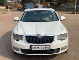 Used Skoda Superb 1.8 TSI 2011 AT for sale in Thane