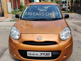 Used Nissan Micra 2013 Diesel XL MT for sale in Chennai