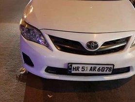 Used 2012 Toyota Corolla Altis MT for sale in Faridabad