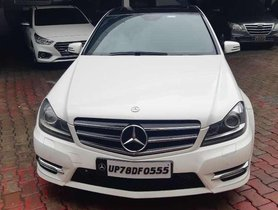 Used 2013 Mercedes Benz C-Class C 220 CDI Style AT for sale in Lucknow