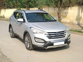 2014 Hyundai Santa Fe 4WD AT Diesel for sale in New Delhi