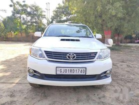 Used Toyota Fortuner 4x2 Manual 2013 MT for sale in Ahmedabad