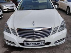 Used Mercedes Benz E Class 2011 AT for sale in Pune